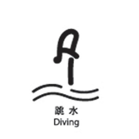 图文:北京2008奥运会体育图标揭晓 跳水