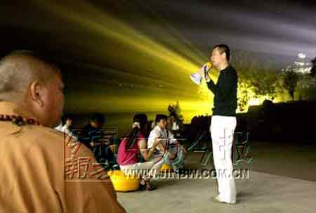 少林禅宗音乐大典10月15日试演 耗资3.5亿(图)