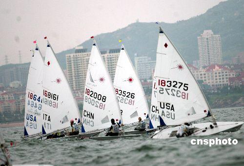 青岛顺利通过北京奥运会帆船帆板比赛标准检验