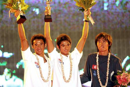 图文:青岛国际帆船赛闭幕 中国队成绩优异
