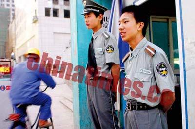 北京保安行业调查:10万保安缺乏统一审核培训