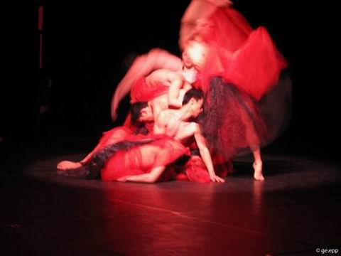 图:金星舞蹈团现代舞精品《海上探戈》
