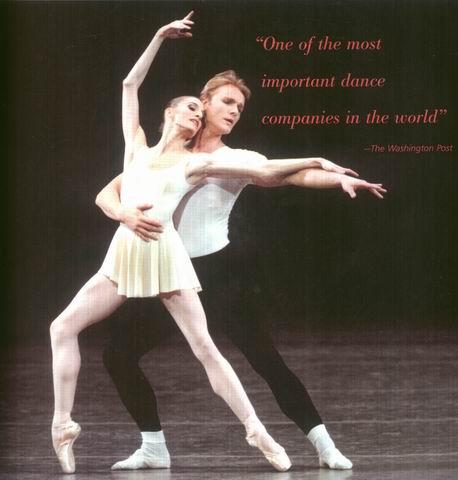 图:美国纽约城市芭蕾舞团—尼古拉斯·马丁斯