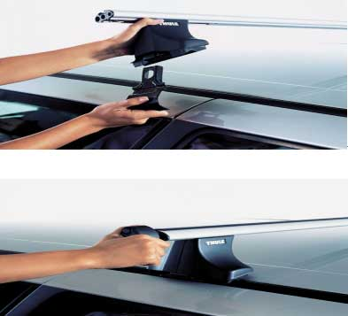 户外运动伙伴 瑞典拓了(THUE)汽车顶架系统
