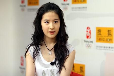 刘亦菲做客聊专辑 期待9月8日搜狐线上音乐会