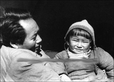 图文:毛泽东与女儿李纳-搜狐新闻