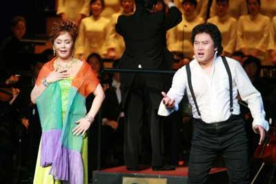 歌剧《图兰多》为北京国际音乐节精彩开场(图)
