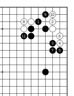 围棋周刊棋局-围棋实战手段之12:贪婪的着法