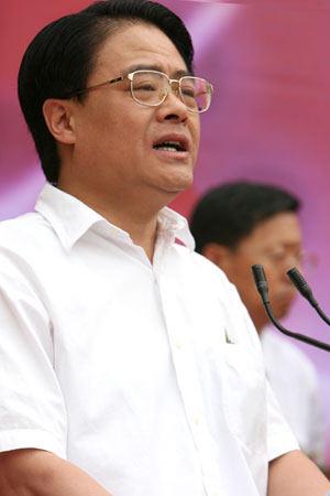 图文:北京市政府副秘书长王晓明致辞