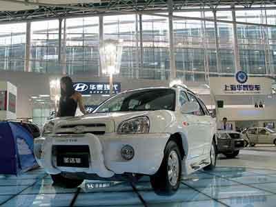 酷热广州--笔者眼中的第四届广州国际车展