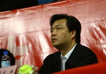 图文:女垒世锦赛赛决赛 北京市副市长吉林到场
