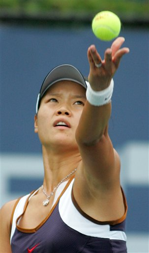 美网发球榜:李娜ACE球排名第8 仅5人比彭帅快