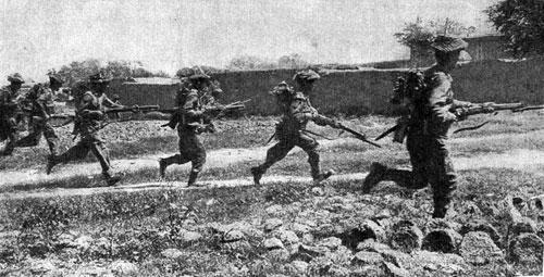 印巴冲突_第二次印巴战争中的印军士兵