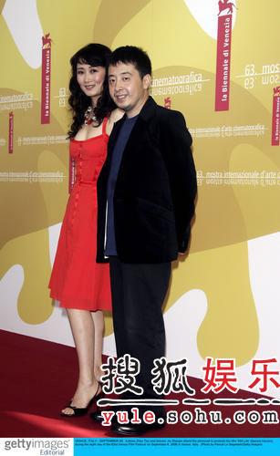 《三峡好人》记者会 女主演赵涛明艳照人(图)