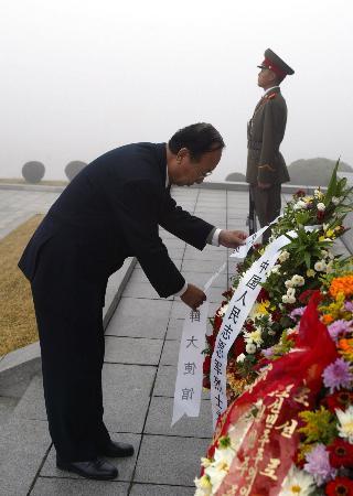 胡锦涛任命刘晓明为中国驻朝鲜大使 武东和被免