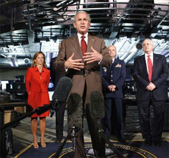 布什将反恐战争正式定义为反伊斯兰法西斯战争