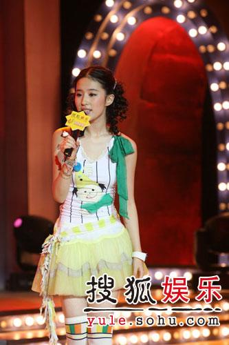 图:刘亦菲线上音乐会写真(16)