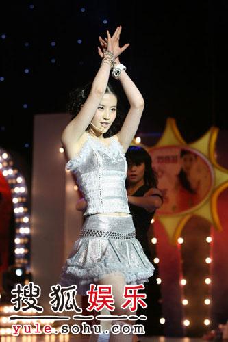 图:刘亦菲线上音乐会写真(24)
