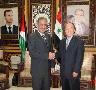 叙利亚复兴党地区领导副书记高度评价叙中关系
