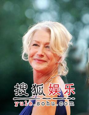 图:威尼斯闭幕盛典 英国女星海伦-米伦亮相