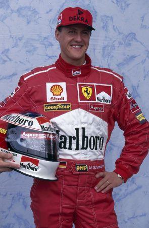 舒马赫F1职业生涯数据统计