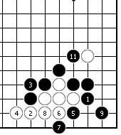 围棋周刊棋局-围棋实战手段之13:令人讨厌的靠