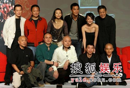 章子怡出席《夜宴》首映 冯小刚对记者泼冷水