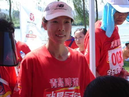 """图文:""""我是冠军""""沈阳赛区 奥运冠军高红苗"""
