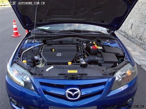 『Mazda6轿跑发动机舱』-运动与舒适的平衡 马自达6轿跑车