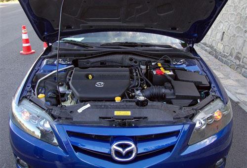 『Mazda6轿跑发动机舱』-运动与舒适的平衡 Mazda6轿跑详细实拍高清图片