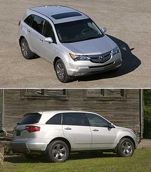 呼喊动力灵魂--Acura新一代MDX亮相(图)
