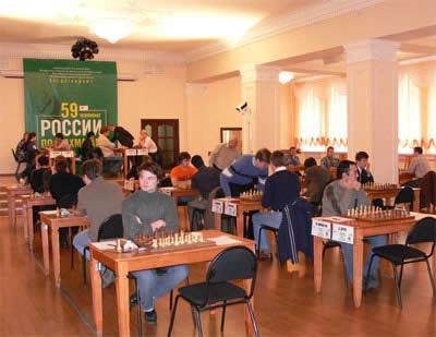 俄罗斯男子国象锦标赛预赛 伊纳尔基耶夫摘头名