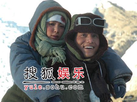 李冰冰心疼陈坤 雪山拍戏建立深厚感情(组图)