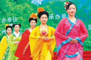 杭州 演绎中国历代妇女发型(组图)图片