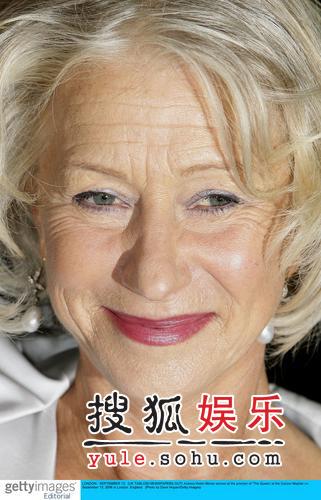 《女王》伦敦首映 海伦-米伦优雅高贵(组图)