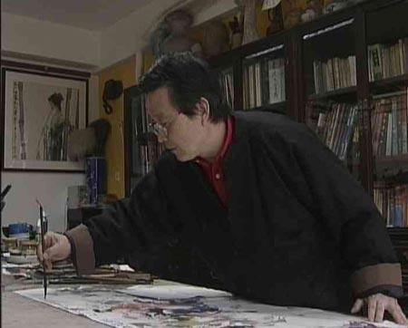 [东方之子]贺成:《唐人马球图》
