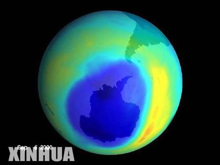 国际保护臭氧层日:拯救地球 共补蓝天[组图]