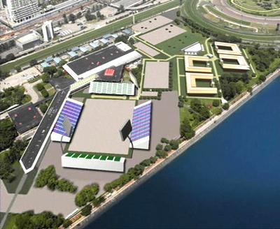 香港确保奥运马术比赛成功 推出主赛场模型