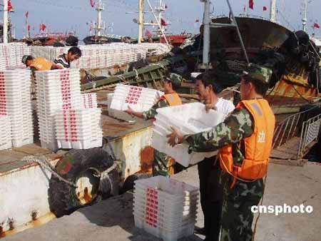 台风珊珊逼近浙江 温州和台州两地暂停开渔(图)