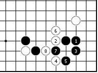 围棋周刊棋局--实战手段之14:两靠的扰乱战法