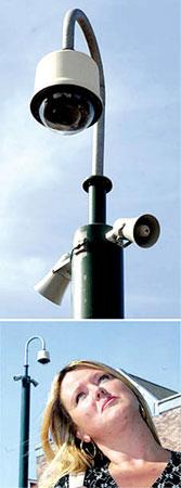英国发明会说话摄像头 发现不良举动便斥责(图)