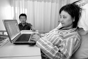癌症女编辑写日志记下心路 搜狐推博客祈福(图)