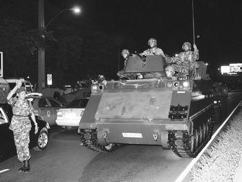 泰国政变军方控制曼谷 政变力量组建政改委员会