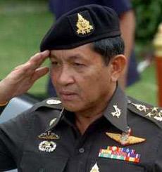 政变领导人:泰国陆军总司令颂提上将