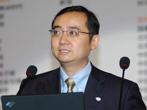 图文:中国互联网络信息中心CNNIC主任毛伟
