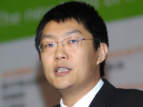 图文:TOM在线互联网事业部总裁曾伏虎