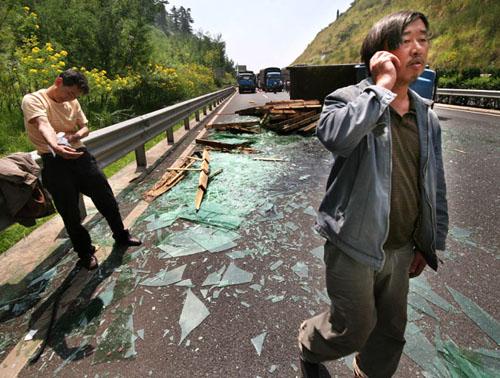 昆石高速公路车祸