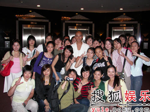 影迷组织包场观《夜宴》 黄晓明亲笔赠言感谢