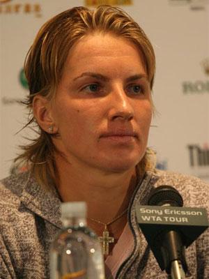 库兹涅佐娃瞄准中网封后 称赞李娜实力强过彭帅