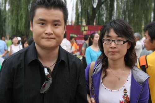 图文:首届搜狐博客大会 央视主持人贺炜到场